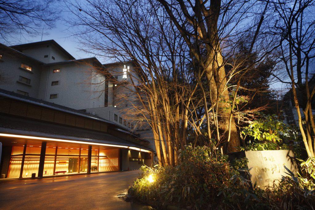 Nishimuraya Hotel Shogetsutei Entrance