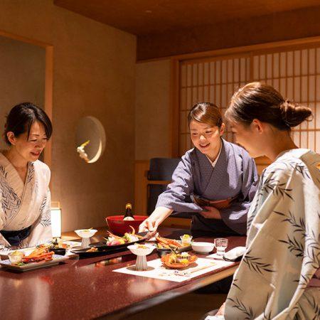 西村屋ホテル招月庭 お部屋食