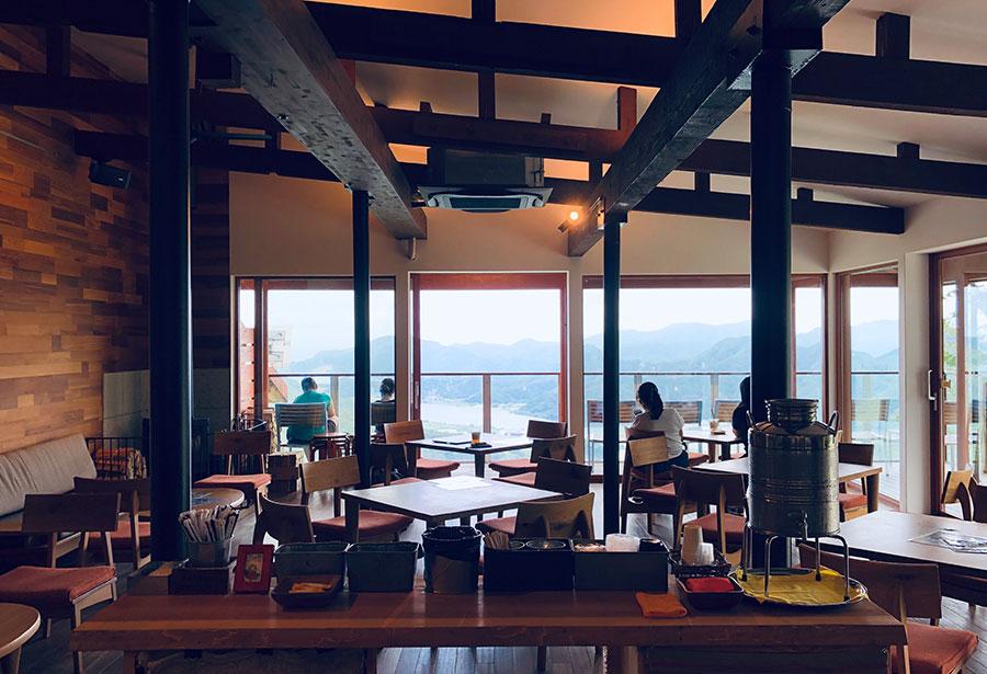 城崎温泉 ロープウェイ カフェ